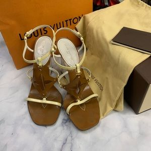 LOUIS VUITTON wedges eu38